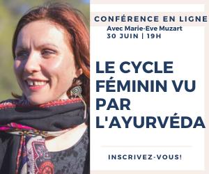 Conférence cycle féminin et ayurveda